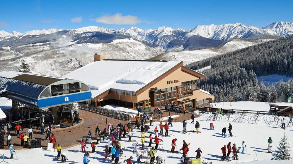 Vail Ski Resort Mid Mountain Village Dining