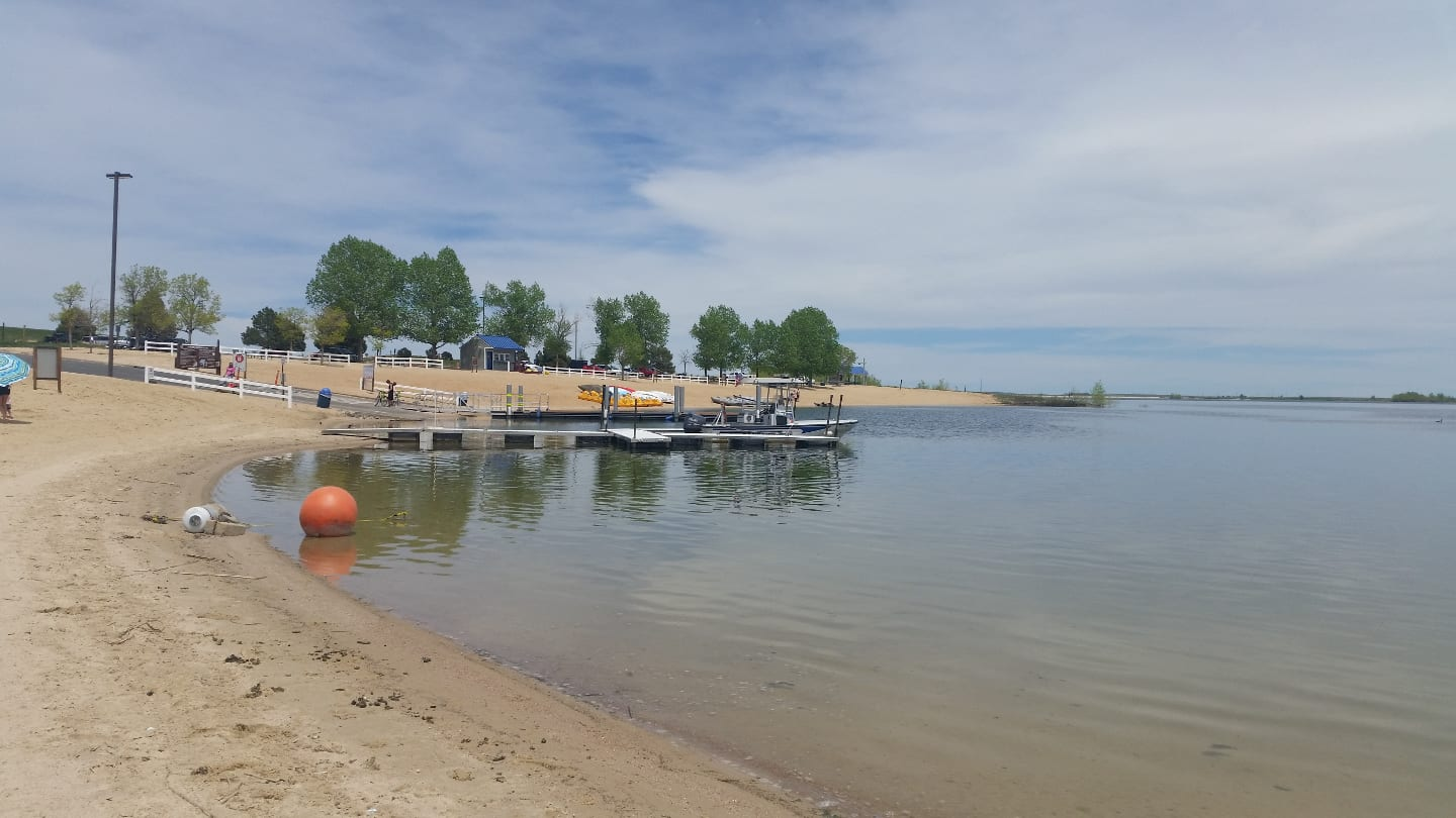 Aurora Reservoir Boating Dock Swim Beach