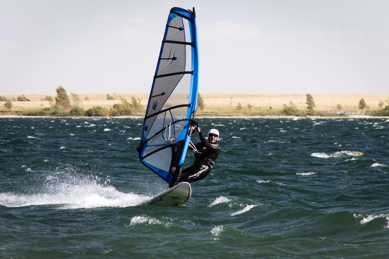 Aurora Reservoir Windsurfing Colorado