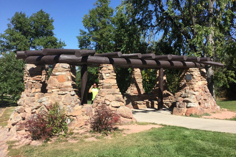 Chautauqua Park Boulder Pergola