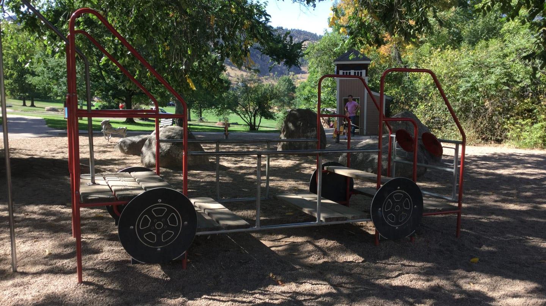 Chautauqua Park Boulder Playground Fire Truck