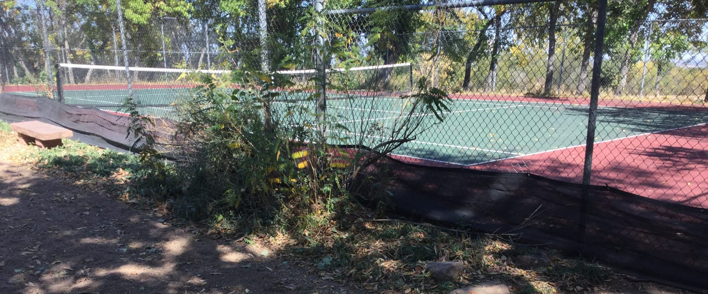 Chautauqua Park Boulder Tennis Court
