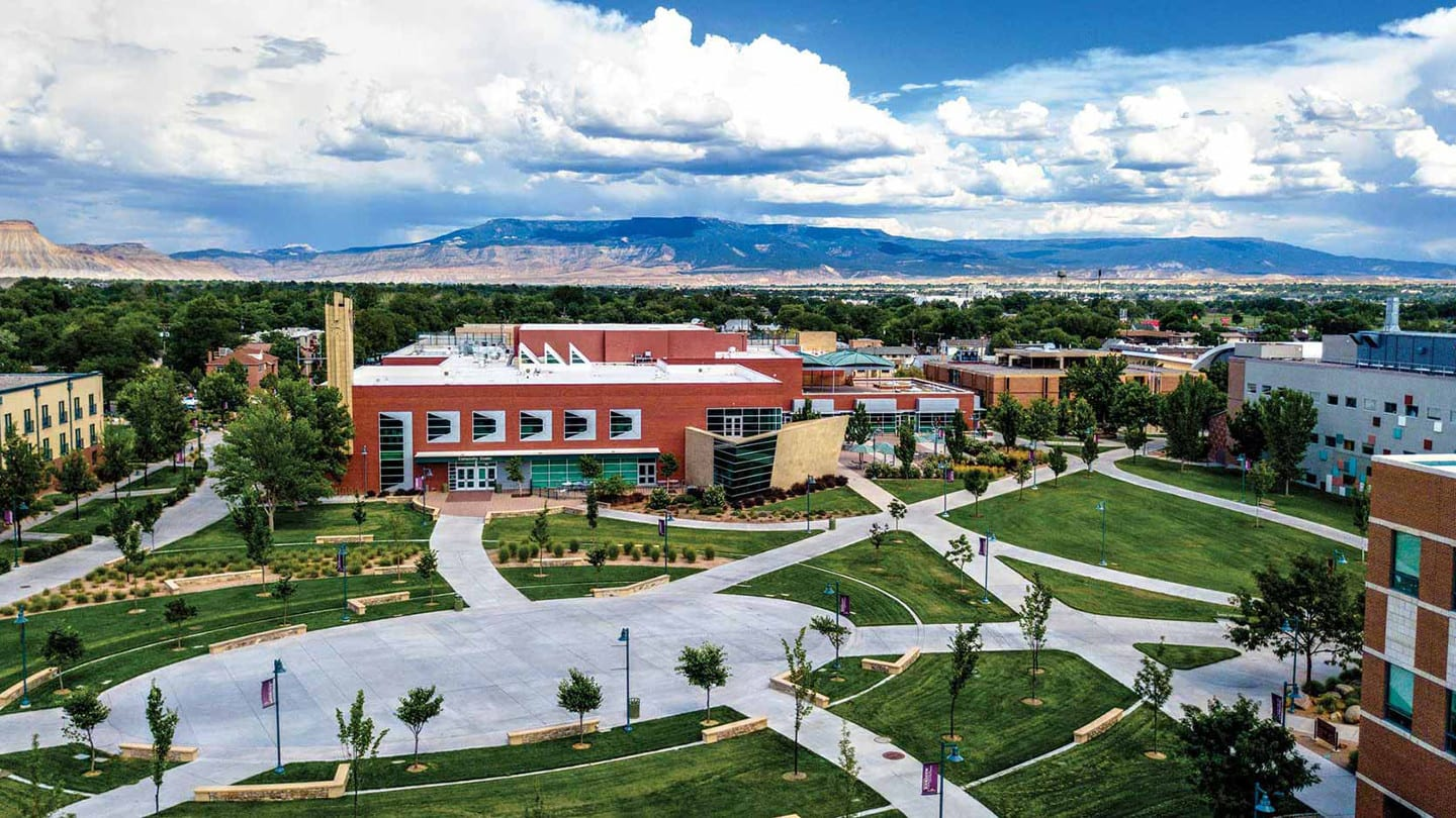 Colorado Mesa University Grand Junction Campus Aerial