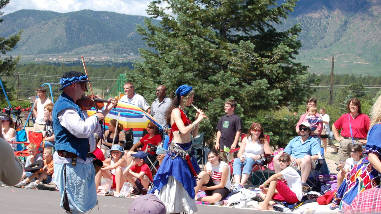 Colorado Renaissance Festival Flute Player
