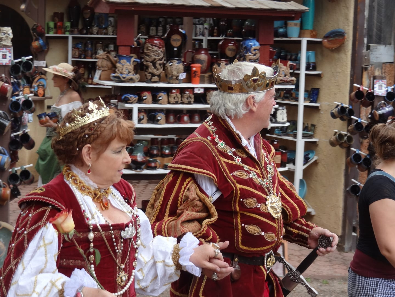 Colorado Renaissance Festival King and Queen