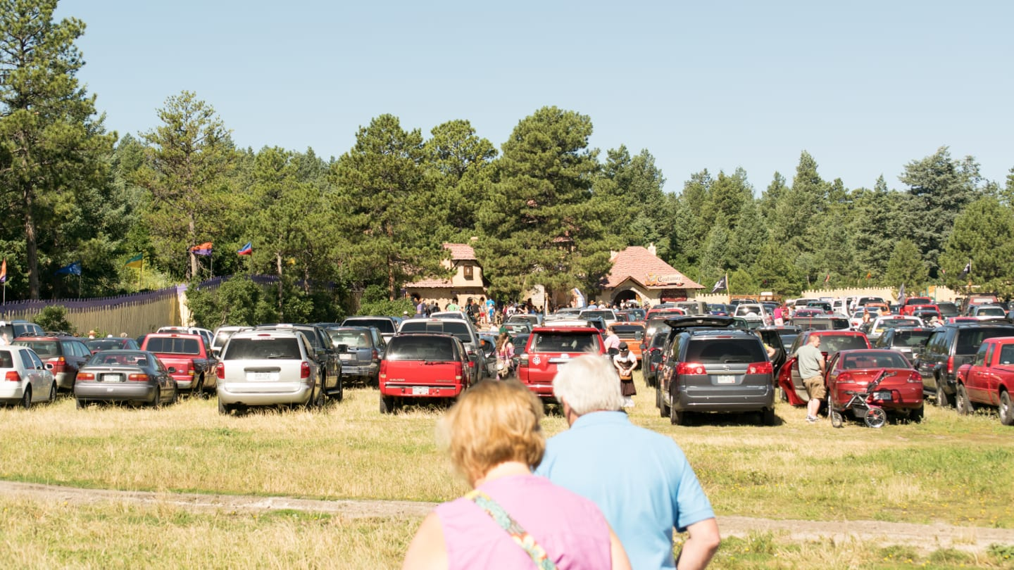 Colorado Renaissance Festival Free Parking