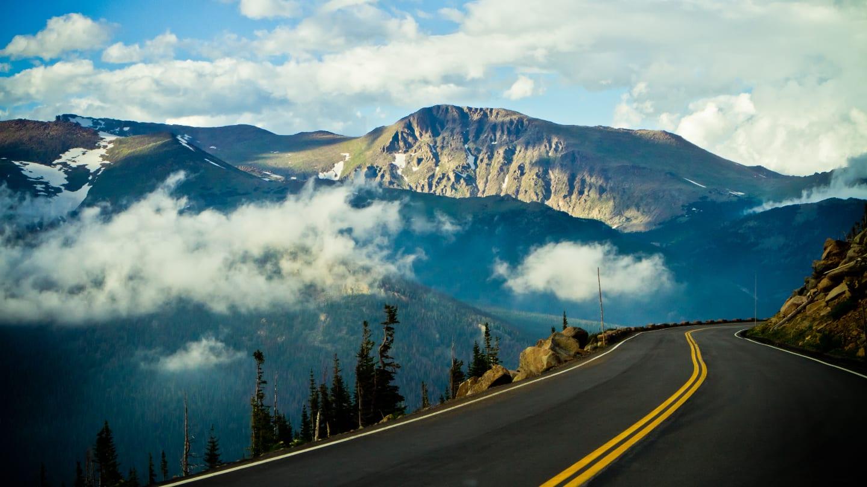 Colorado Summer Vacation Trail Ridge Road