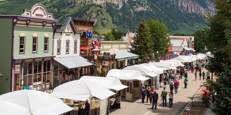 Crested Butte Arts Festival Colorado