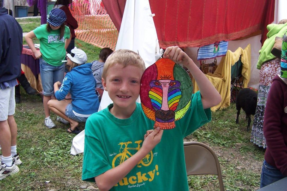 Crested Butte Arts Festival Children Crafts