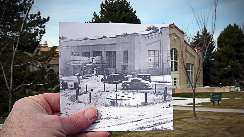 Colorado State University Gymnasium Vintage