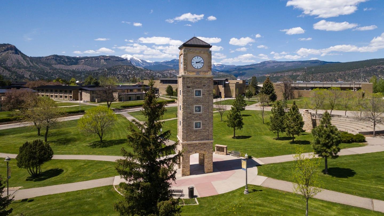 Fort Lewis College Durango Campus Aerial