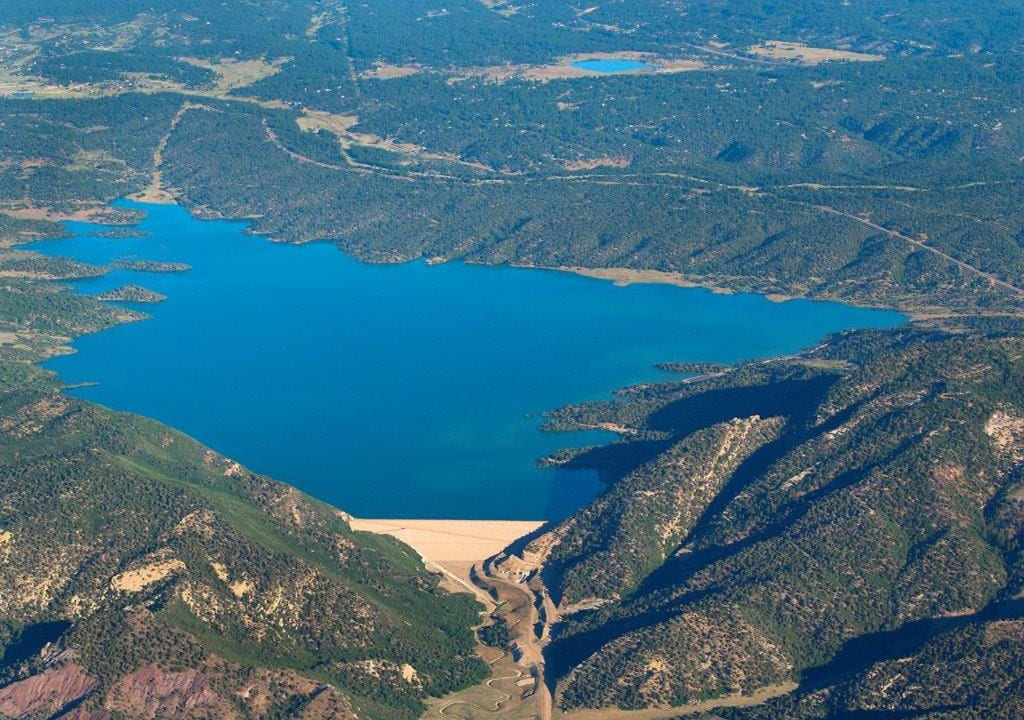 Lake Nighthorse Aerial View Colorado