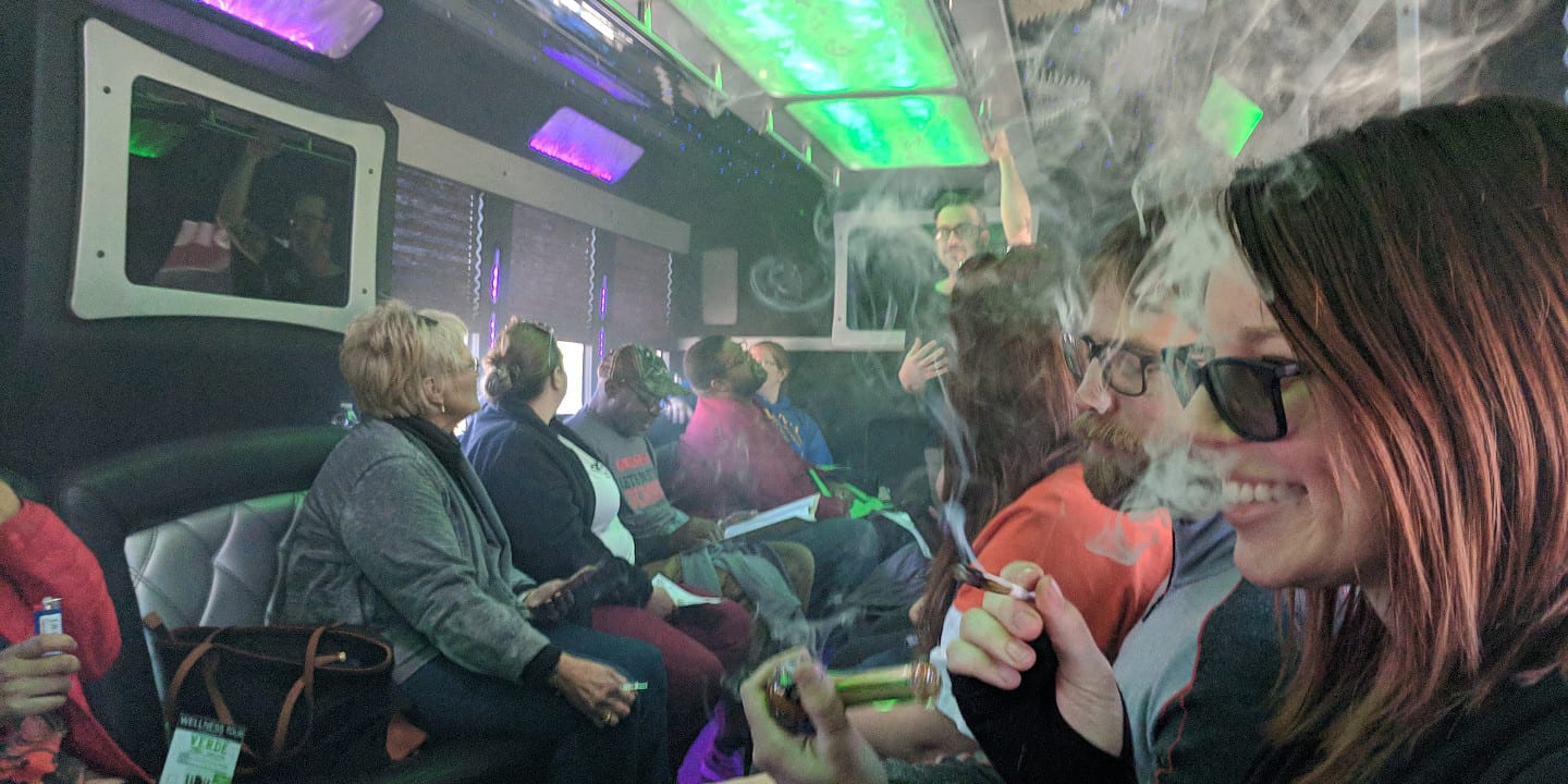 420 Tours On Board Weed Friendly Party Bus