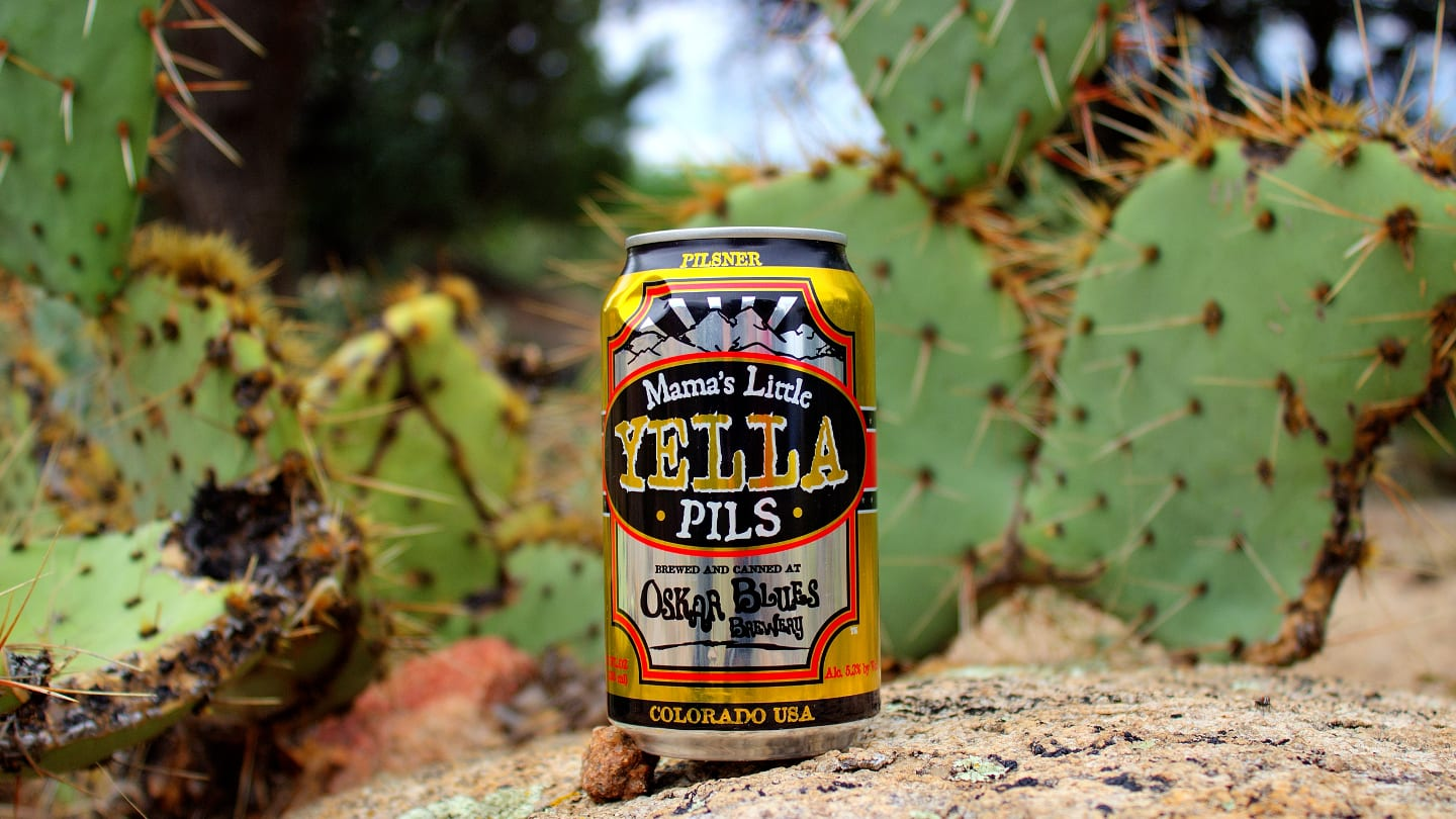 Oskar Blues Brewery Mama Yella Pils