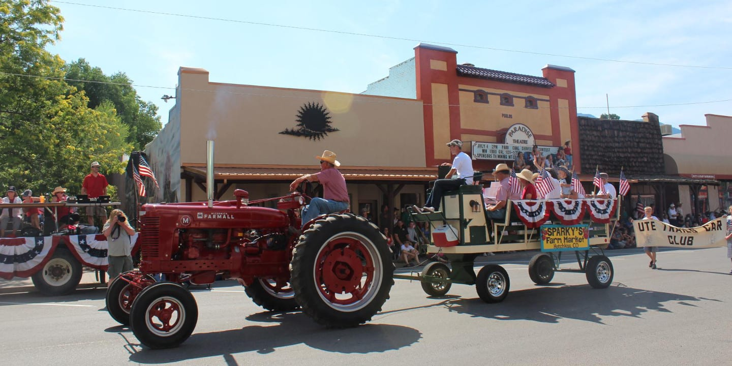 Paonia Cherry Days Parade Colorado
