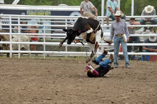 Plateau Valley Heritage Days Rodeo Bullrider