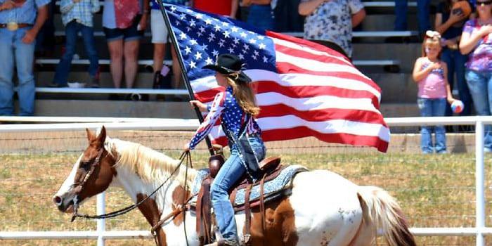 Plateau Valley Heritage Days Rodeo Collbran Colorado