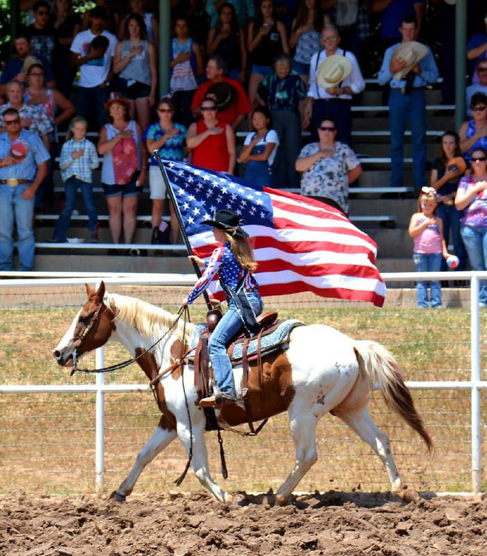 Plateau Valley Heritage Days Rodeo Collbran Colorado