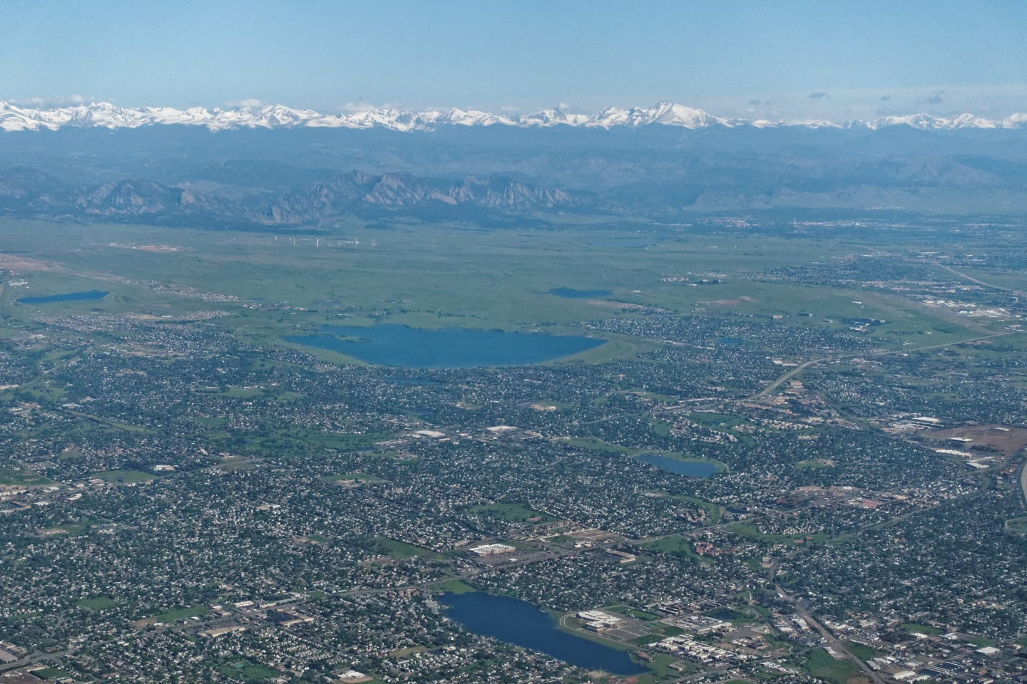 Standley Lake Aerial View Westminster Colorado