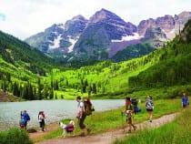 Maroon Bells Scenic Area Aspen