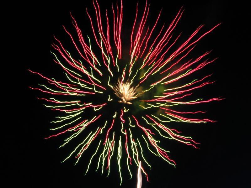 Westminster City Park July 4th Fireworks