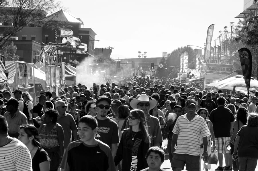 Chile Frijoles Festival Pueblo Union Avenue