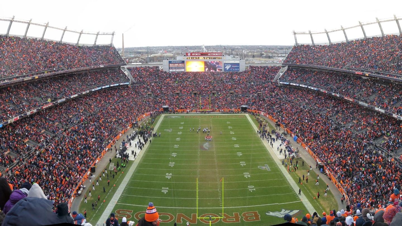 Denver Broncos Mile High Stadium