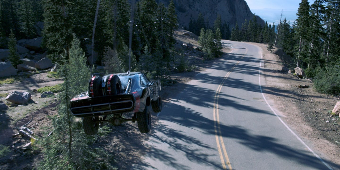 Fast Furious 7 Monarch Pass Colorado Car Jump