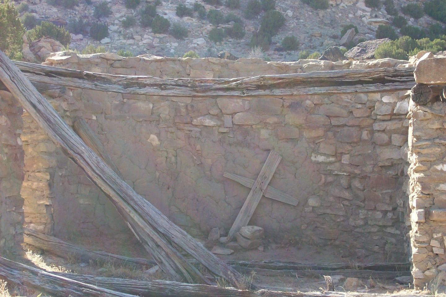 Picketwire Canyonlands Spanish Catholic Church Ruins