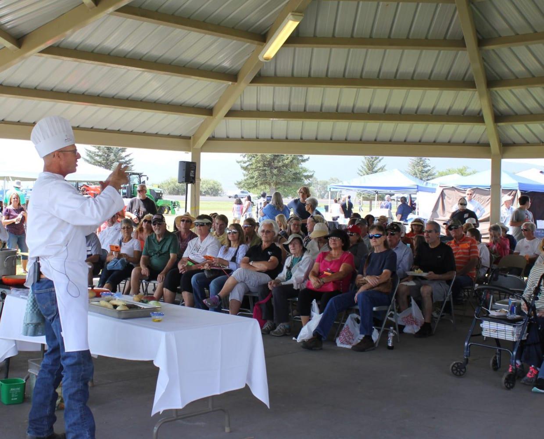San Luis Valley Potato Festival Chef Demo