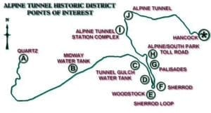 Alpine Tunnel Historic District Attractions