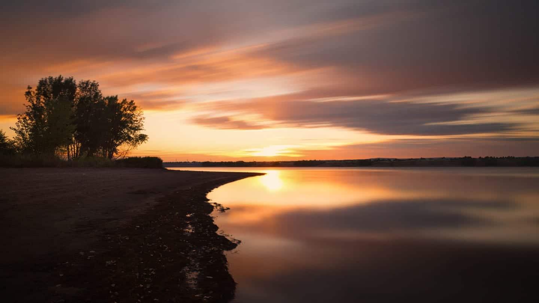 Chatfield Reservoir State Park Sunrise