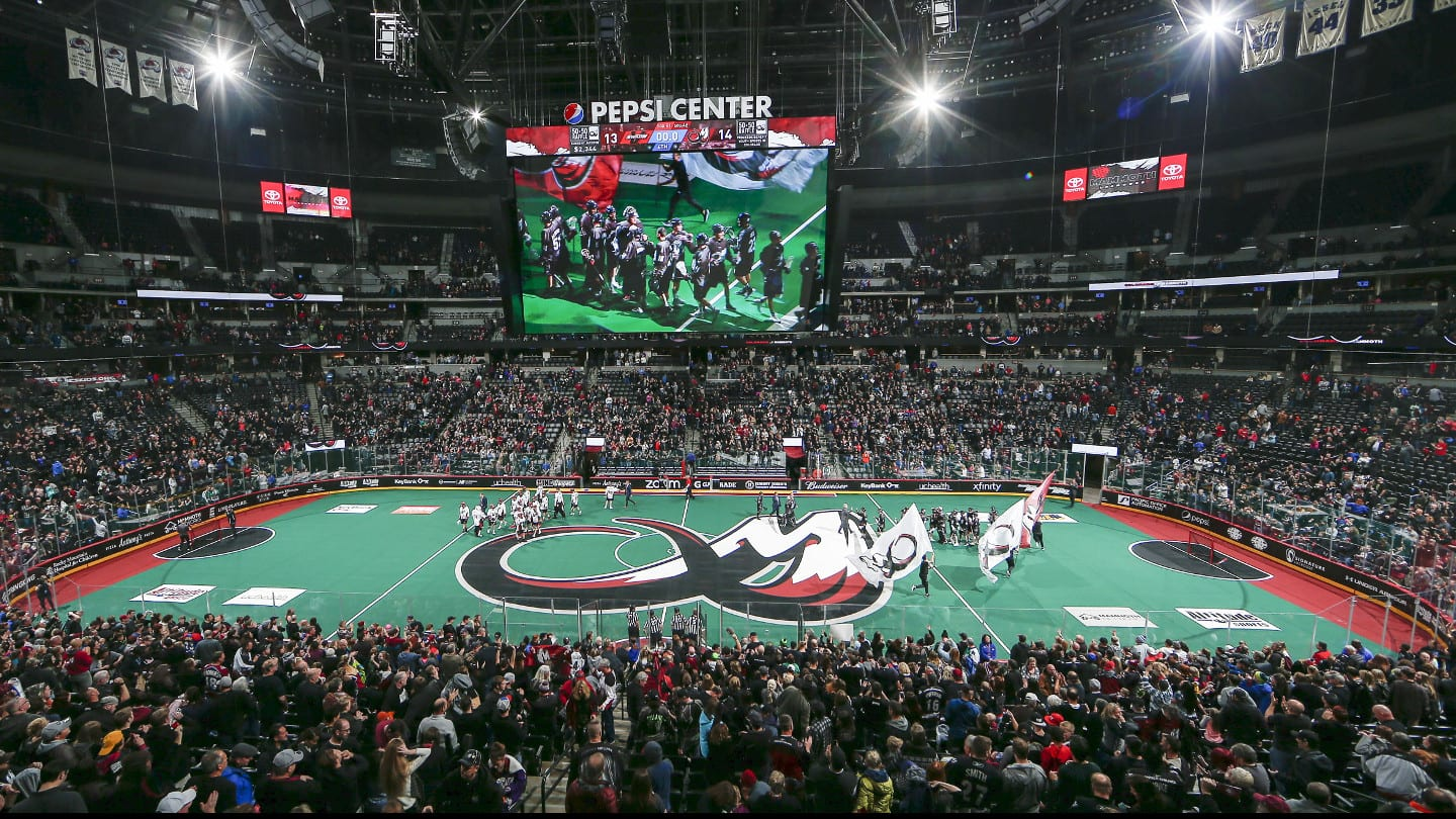 Colorado Mammoth Game Pepsi Center
