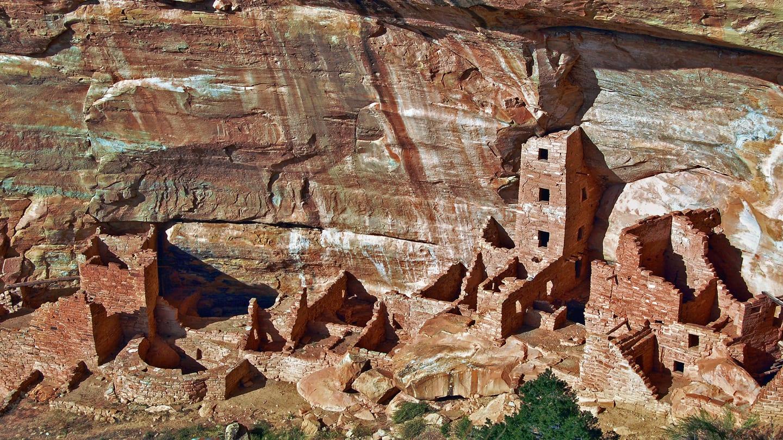 Square Tower Mesa Verde National Park Colorado