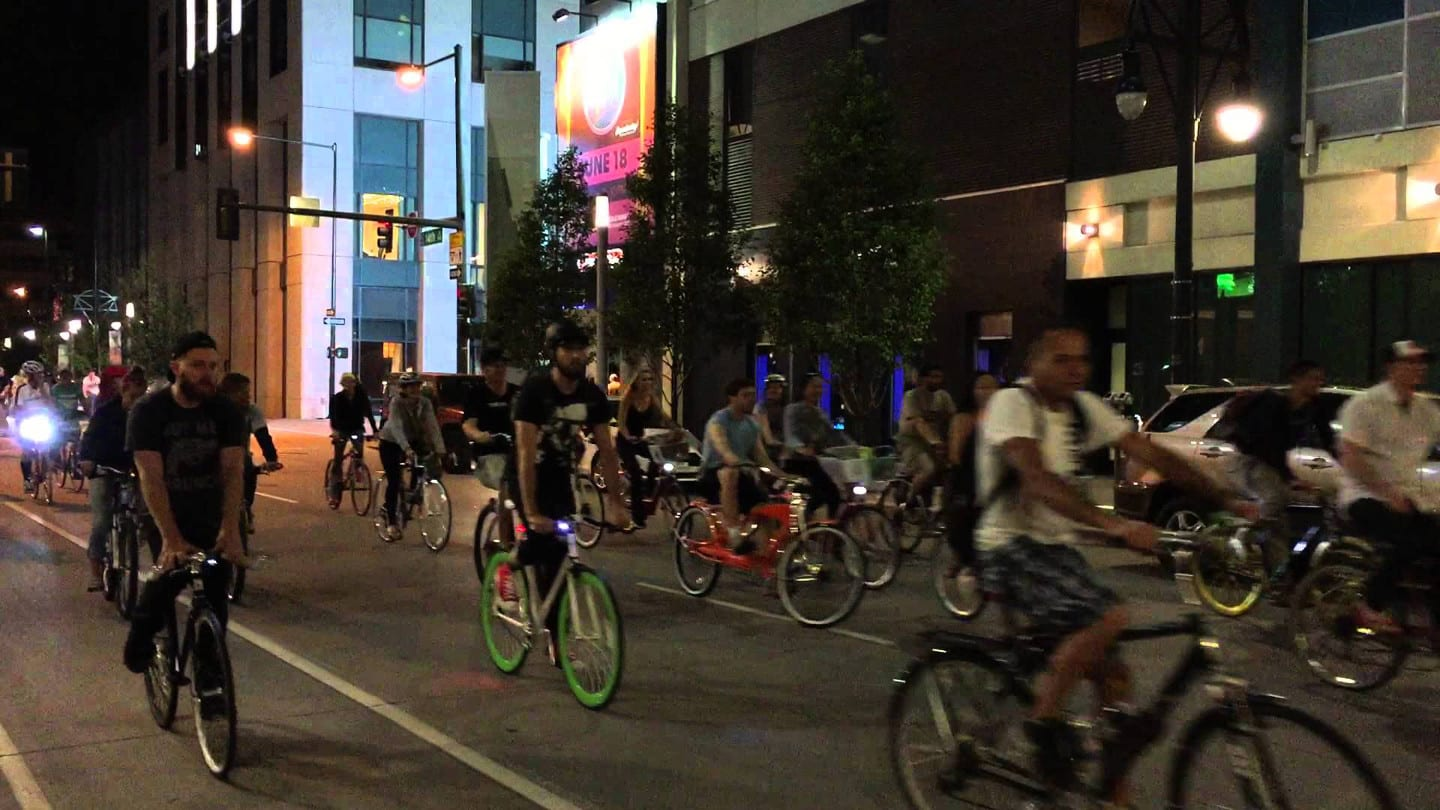 Denver Cruiser Ride Night Bike Bar Crawl