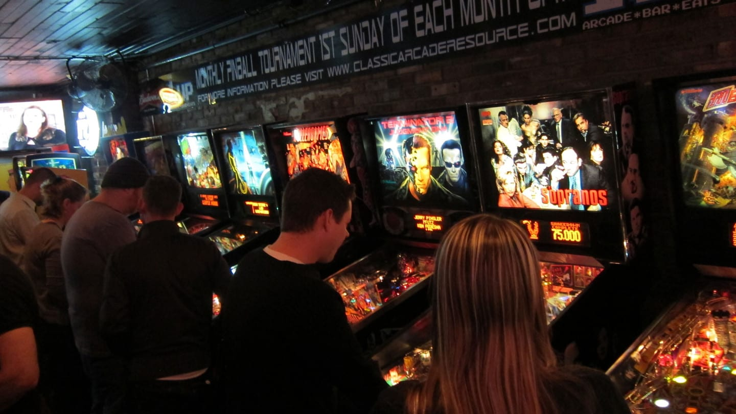 1Up Denver Arcade Bar Pinball Machines