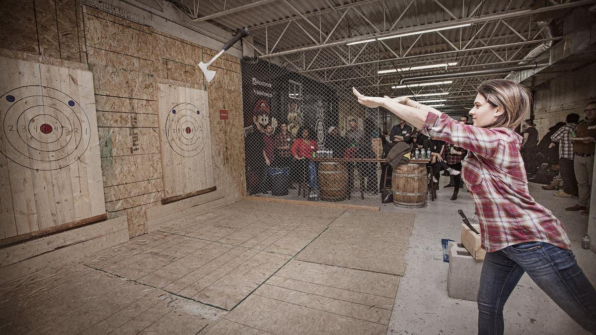 Bad Axe Throwing Denver Colorado