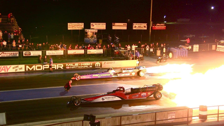 Bandimere Speedway Jet Cars Morrison