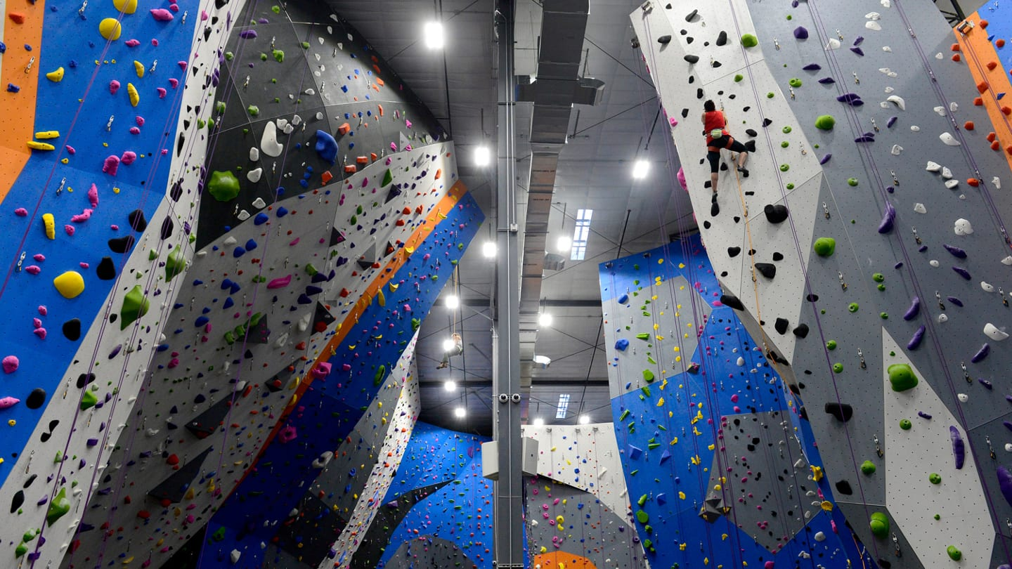Earth Treks Indoor Rock Climbing Golden