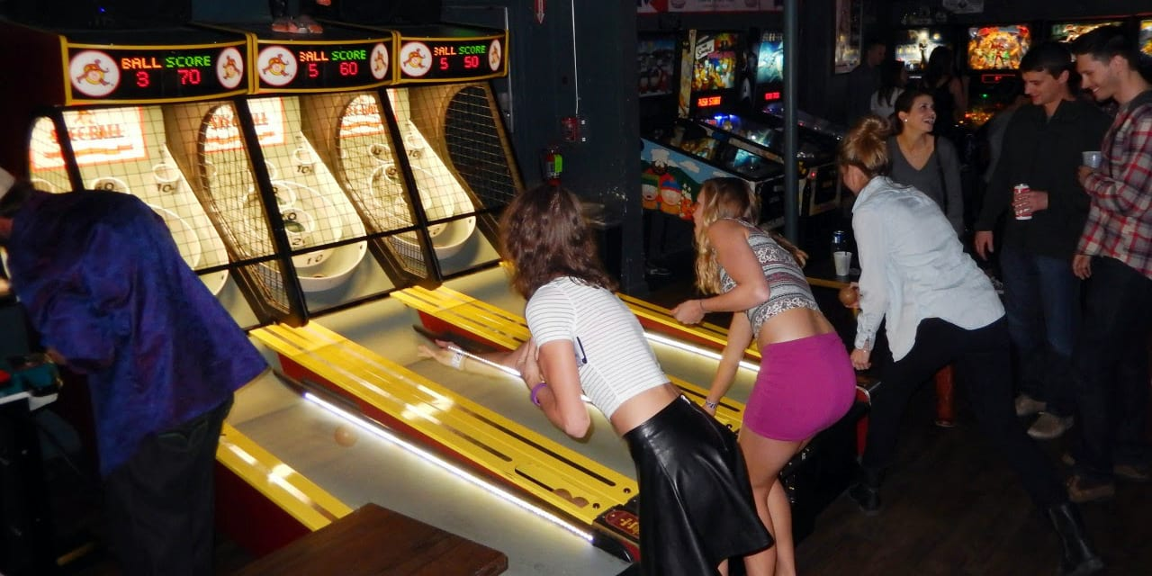 Denver Date Ideas 1UP Skeeball