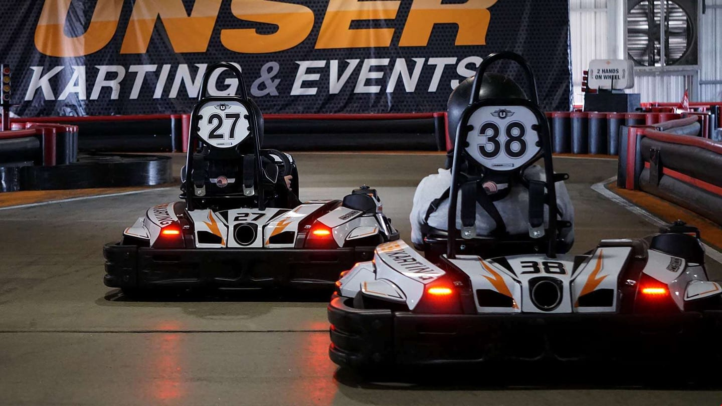 Unser Racing Adult Go Karts Denver