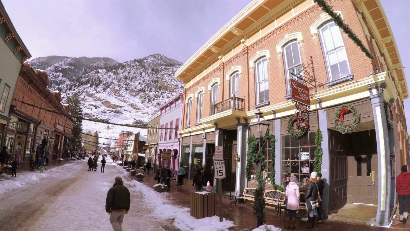 Georgetown Colorado Christmas Market