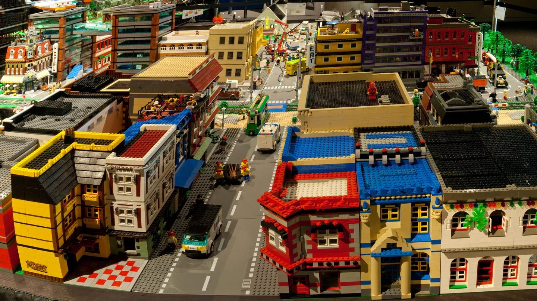 History Colorado Center Lego Exhibit