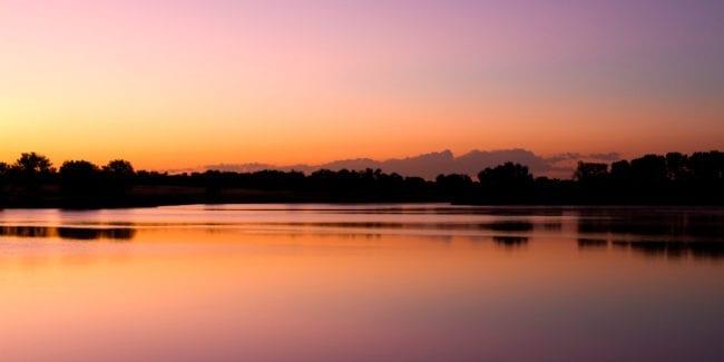Honeymoon Colorado Lake Ladora Sunrise