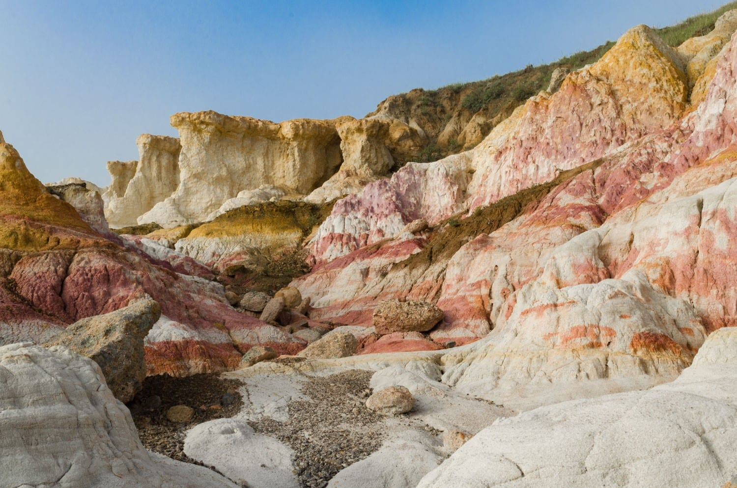 Colorful Colorado Paint Mines Interpretive Park
