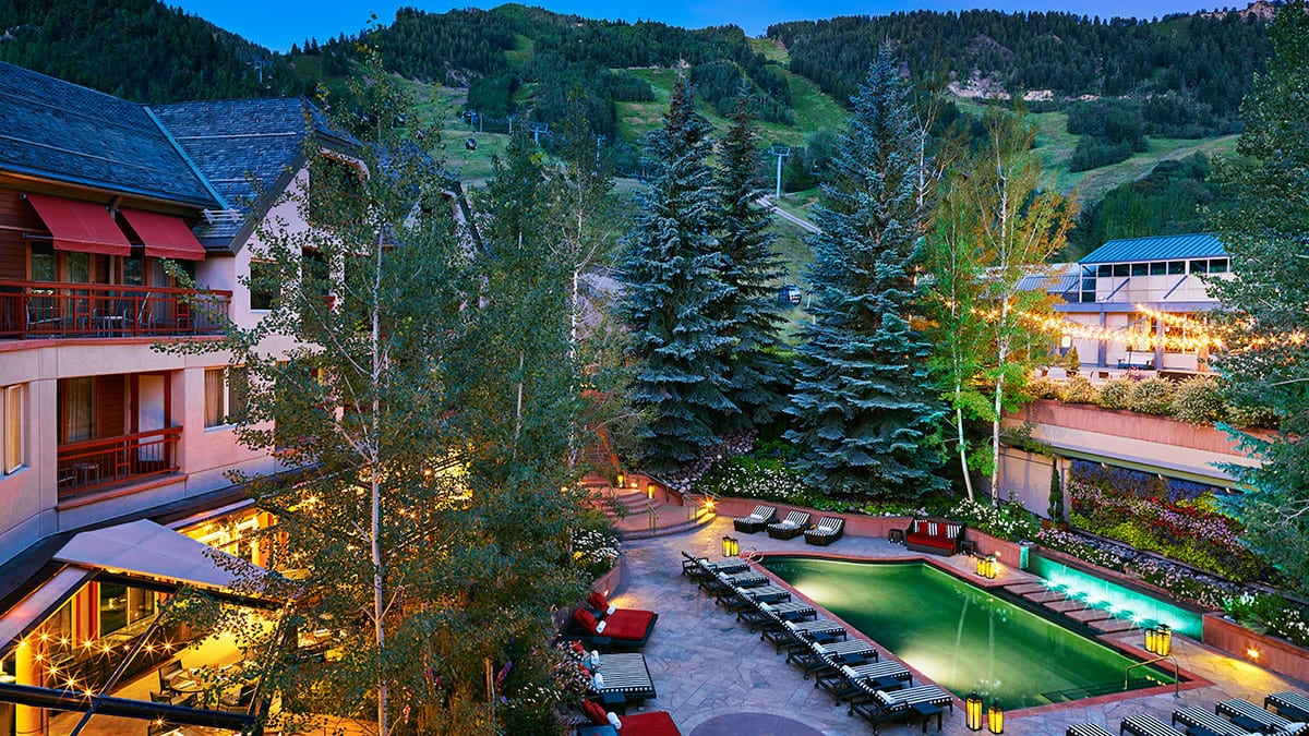 The Little Nell Aspen Swimming Pool Ski Resort