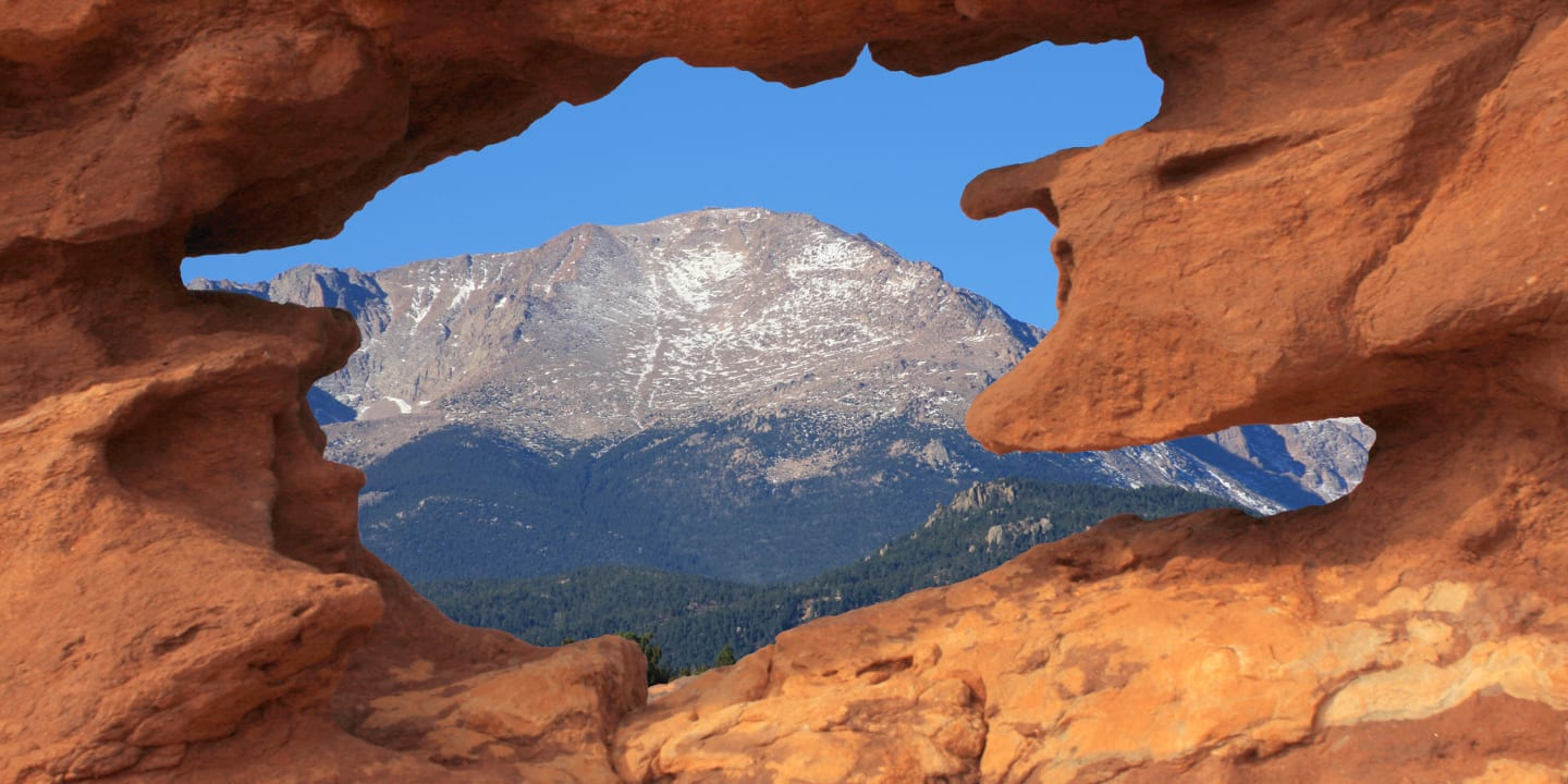 Pikes Peak Mountain Keyhole