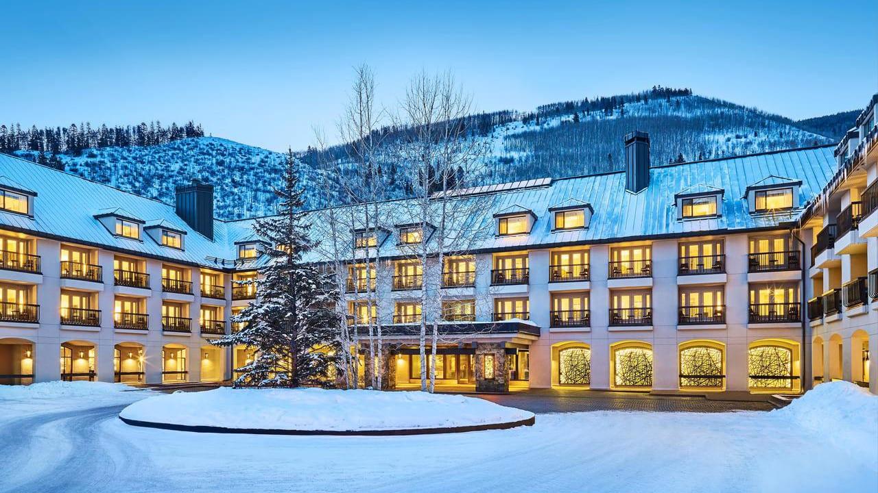 Hotel Talisa Vail Exsterior Winter
