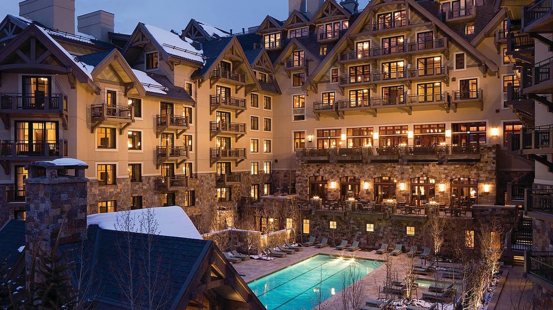 Four Seasons Resort Vail Exterior Pool