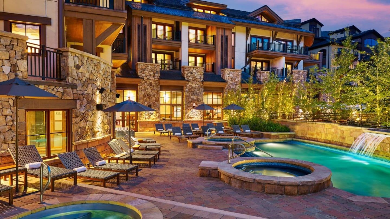 Sebastian Hotel Exterior Pool Vail
